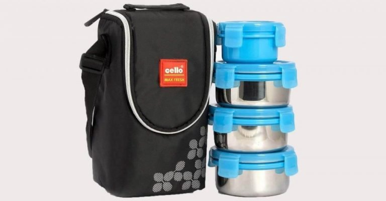 Best Top 5 Stainless Steel and Glass Lunch Boxes in India 2019 – Review