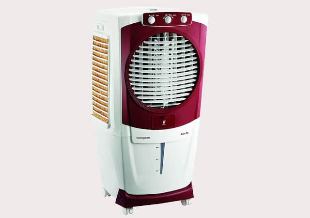 Crompton Aura Woodwool 55 Litre Desert Cooler