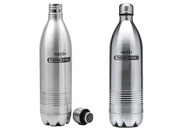 Milton Thermosteel Duo Deluxe-1000 Bottle Style Vacuum Flask